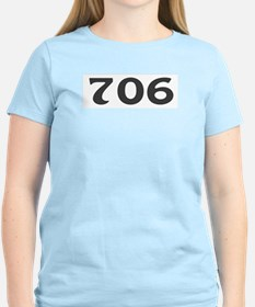 706 Area Code T-Shirt