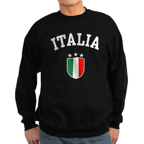 CafePress - Italia Sweatshirt (dark)