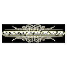 SILVERADO Bumper Bumper Sticker