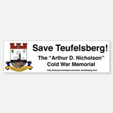 Save Teufelsberg! Bumper Bumper Bumper Sticker