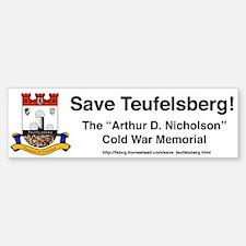Save Teufelsberg! Bumper Bumper Stickers