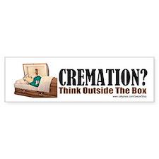 Cremation (Bumper Sticker)