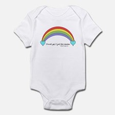 I'm not Gay. Infant Bodysuit