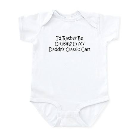 In Daddy's Classic Car Infant Bodysuit