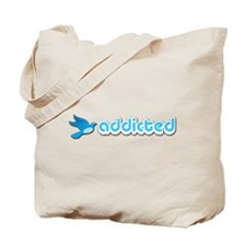 Addicted to Twitter - Tote Bag