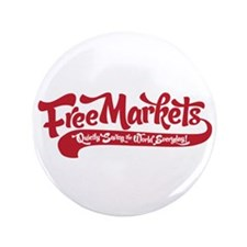 "Free Markets 3.5"" Button"