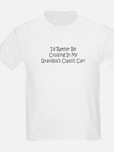 In Grandpa's Classic Car T-Shirt