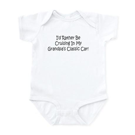 In Grandpa's Classic Car Infant Bodysuit