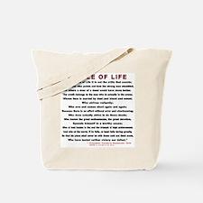 """Man in the Arena""  Tote Bag"