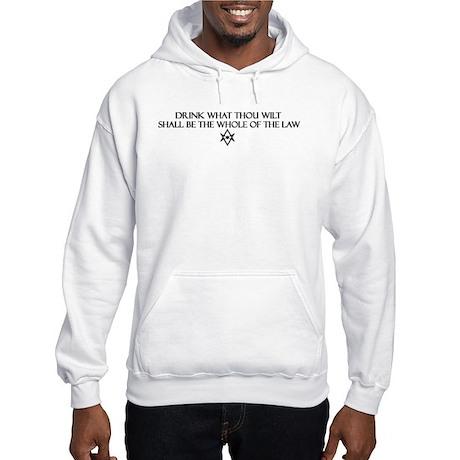Aleister Crowley Ale Hooded Sweatshirt