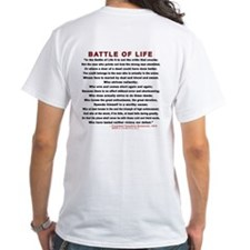 """Man in the Arena"" Shirt (Back)"