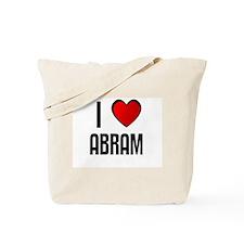 I LOVE ABRAM Tote Bag