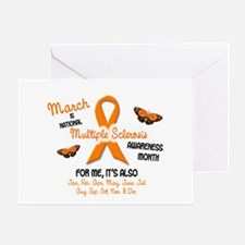 MS Awareness Month 2.1 Greeting Card