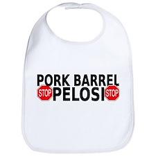 Pork Barrel Pelosi Bib