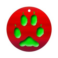 Gray Fox Keepsake Ornament