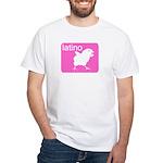 LATINO White T-Shirt