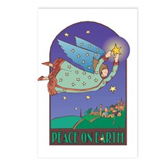 Peace on Earth Angel Postcards (Package of 8)