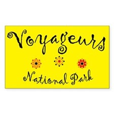 Voyageurs Super Cute Rectangle Decal