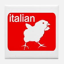 ITALIAN Tile Coaster