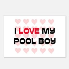 I Love My Pool Boy Postcards (Package of 8)