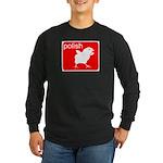 POLISH Long Sleeve Dark T-Shirt