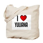 I LOVE YULIANA Tote Bag