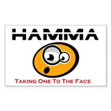 Hamma time Rectangle Decal