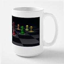 Chess Warriors Large Mug