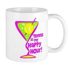 Tennis Happy Hour Mug