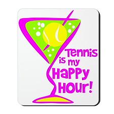 Tennis Happy Hour Mousepad