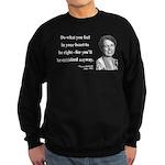 Eleanor Roosevelt 7 Sweatshirt (dark)