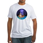 MIDNIGHT CANOE Fitted T-Shirt