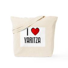 I LOVE YARITZA Tote Bag