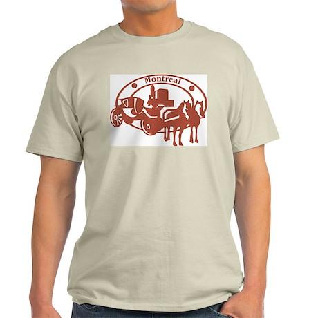 Montreal Ash Grey T-Shirt