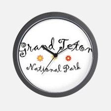 Grand Teton Super Cute Wall Clock
