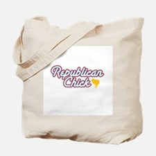 Republicans (with chick) Tote Bag