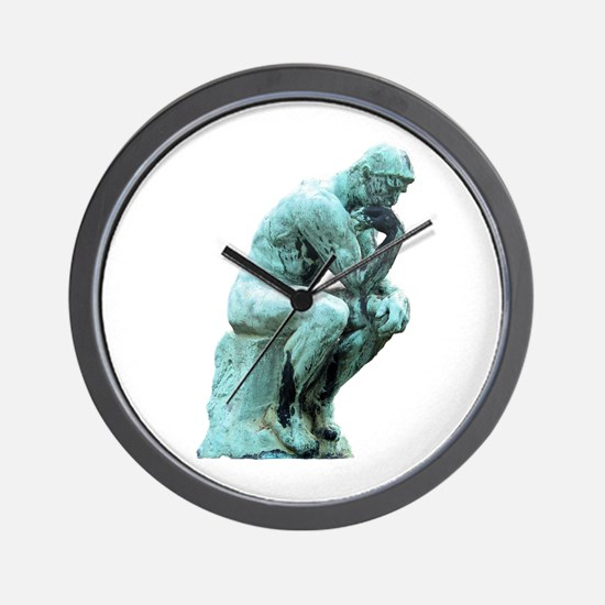 The Thinker Wall Clock