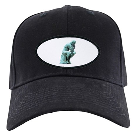 The Thinker Black Cap
