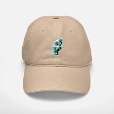 The Thinker Baseball Baseball Cap