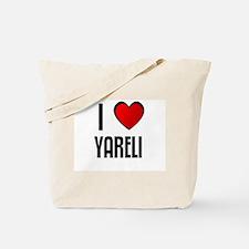 I LOVE YARELI Tote Bag
