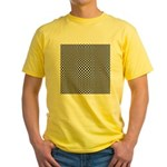 Op-art-1 Yellow T-Shirt