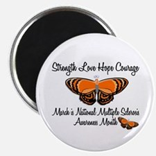 """MS Awareness Month 3.2 2.25"""" Magnet (10 pack)"""