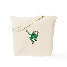 Irish Man Dancing Tote Bag