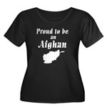Proud to be an Afghan Women's Plus Size Scoop Neck