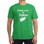 Proud to be an Afghan Men's Fitted T-Shirt (dark)