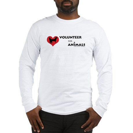 Volunteer for Animals Long Sleeve T-Shirt