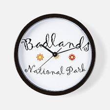 Badlands Super Cute Wall Clock