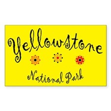 Yellowstone Super Cute Rectangle Decal