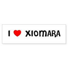 I LOVE XIOMARA Bumper Bumper Sticker