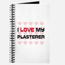 I Love My Plasterer Journal